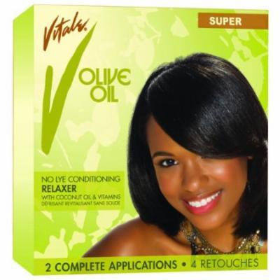 Vitale Olive Oil Relaxer - Super Kit 2-Count (Pack of 2)