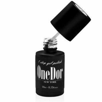OneDor® One Step Gel Polish UV Led Cured Required Soak Off Nail Polish (No Wipe Top Coat)