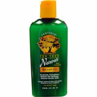 Fantasia Tea Tree Natural Shampoo 4 oz. (Pack of 6)