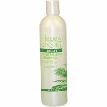 Hawaiian Silky Shampoo Neutral - No-Lye 8 oz. (Pack of 2)