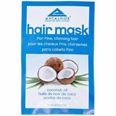 Excelsior Coconut Oil Hair Mask Packette .10 oz. (Pack of 12)