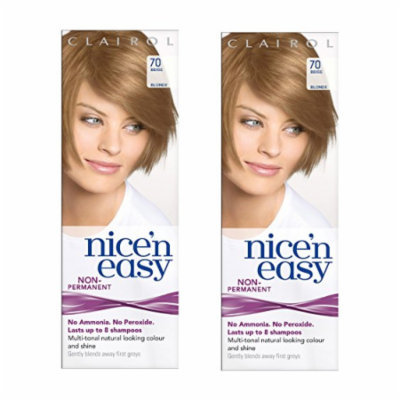 Clairol Nice N' Easy Hair Color #70, Beige Blonde (Pack of 2) Uk Loving Care