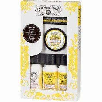 J.R. Watkins Lemon Cream Ultimate Travel Kit, 5 pc