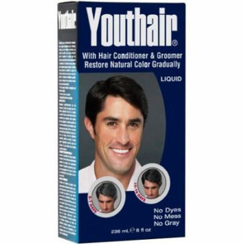 Youthair Liquid Gray Hair Eliminator 8 oz. (Pack of 6)