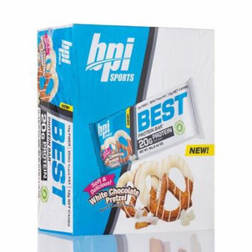 BEST PROTEIN BAR W CHC PTZL 12