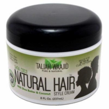 Taliah Waajid Shea-Coco Natural Hair Style Cream 8 oz. (Pack of 6)