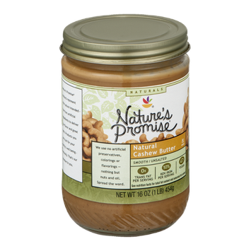 Nature's Promise Naturals Natural Cashew Butter