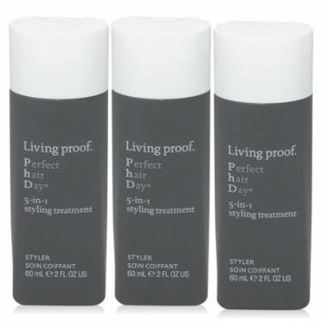 Living Proof Perfect Hair Day 5 in 1 Style Treatment Travel Size 3 pack