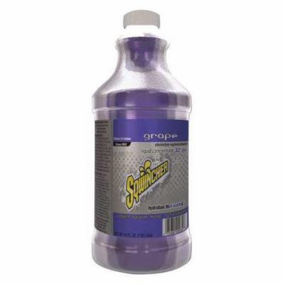 SQWINCHER 020222-GR Sports Drink Mix,2-1/2 gal.,Grape,PK12 G4050980