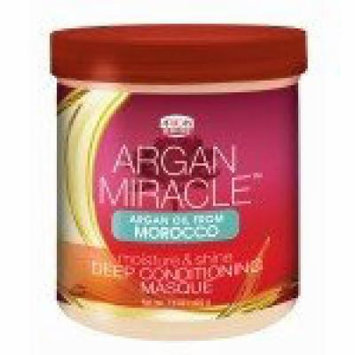 African Pride Argan Miracle Deep Conditioning Masque 15 oz. (Pack of 6)