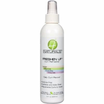 4 Naturals Freshen Up Curl Refresher 8 oz. (Pack of 6)
