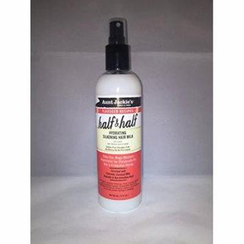 Aunt Jackie's Flaxseed Recipes Half & Half Hydrating Silkening Hair Milk 12 oz. (Pack of 2)