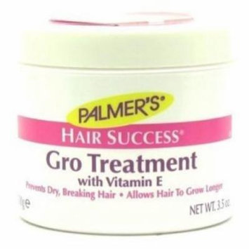 Palmers Hair Success Gro Treatment Jar 3.5oz (3 Pack)