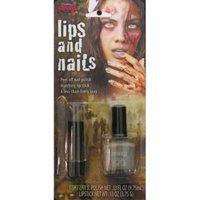 Zombie Nail Polish & Lipstick