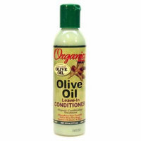 Africa's Best Organics Olive Oil Extra Virgin Leave-In Conditioner 6 oz. (Pack of 2)