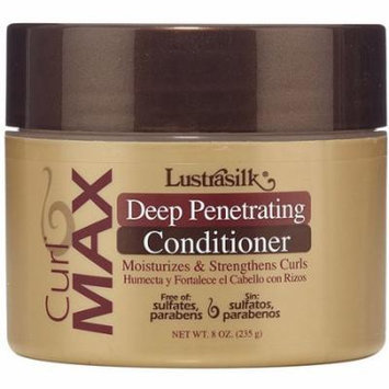 Lustrasilk Curl Max Deep Penetrating Conditioner, 8 oz