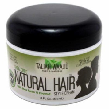 Taliah Waajid Natural Hair Style Cream 8oz Jar (Shea-Coco) (2 Pack)