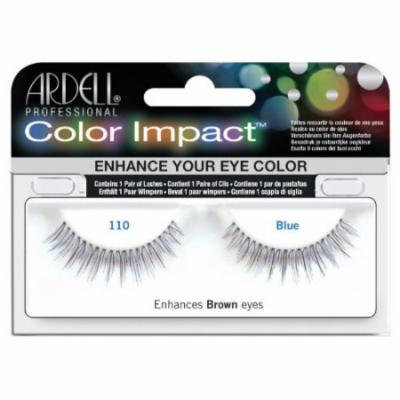 Ardell Color Impact Lash False Eyelashes - #110 Blue (Pack of 2)
