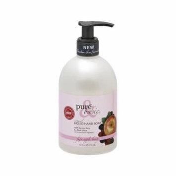Pure & Basic 0826255 Natural Liquid Hand Soap, Fuji Apple Berry - 12. 5 fl oz