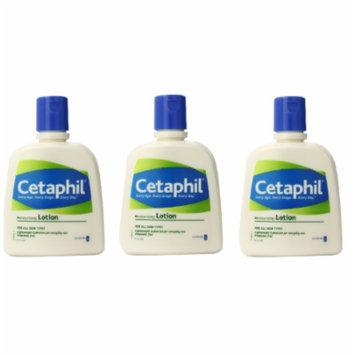 Cetaphil Fragrance Free Moisturizing Lotion, 4 Oz (Pack of 3)