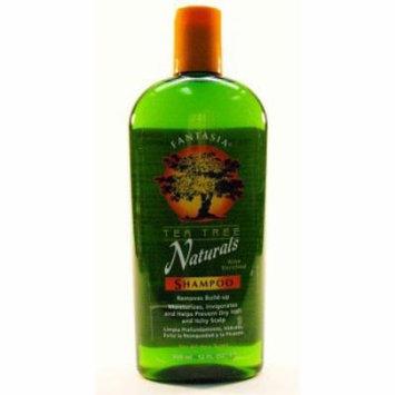 Fantasia Tea Tree Natural Shampoo 12 oz. (Pack of 2)