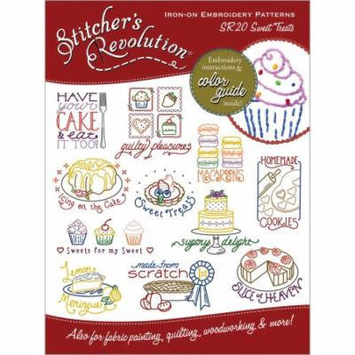Stitcher's Revolution Iron-On Transfers-Sweet Treats