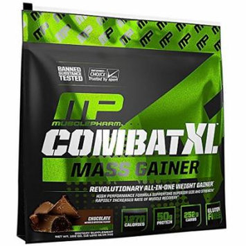 Muscle Pharm Combat XL Mass Gainer Powder, Chocolate, 12 Pound