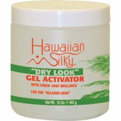 Hawaiian Silky Dry Look Gel Activator 16 oz. (Pack of 2)