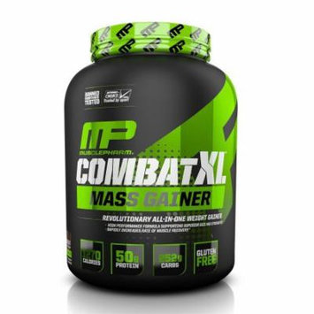 MusclePharm Combat XL Mass Gainer Powder, Chocolate, 6 Pounds