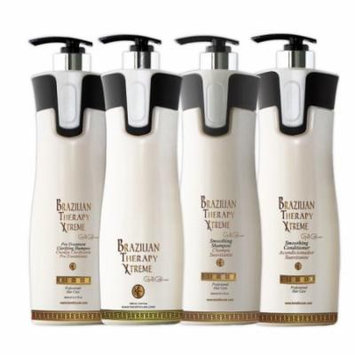 Brazilian Therapy Xtreme BTX Keratin Cure Treatment 32 oz 4 piece Kit 960 ML
