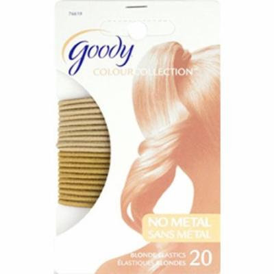 Goody Colour Collection 2mm Elastics, Blonde #76619 - 20 Count (3 Packs)