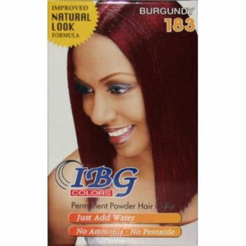 Ideal Black Gold Powder Hair Color - Burgundy (Pack of 2)