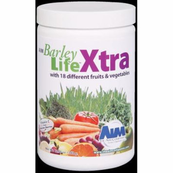 AIM BarleyLife Xtra 12.7oz (with stevia fruit flav) antioxidants for healthy immune system and whole body health