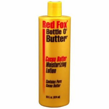 Red Fox Bottle O'butter Cocoa Butter Lotion 16 oz. (Pack of 2)