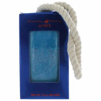 Beverly Hills Polo Club Active Cologne 12oz Soap on a Rope men