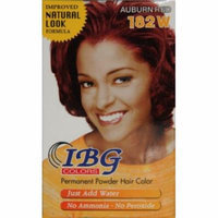 Ideal Black Gold Powder Hair Color - Auburn Red (Pack of 6)