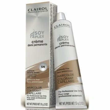 Clairol Premium Cr?me Demi Permanent Hair Color - #5N Lightest Neutral Brown 2 oz. (Pack of 2)