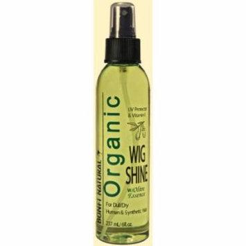 Bonfi Wig Shine Olive Spray 6 oz. (Pack of 6)