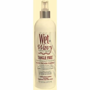 Wet-N-Wavy Tangle Free Leave-In Conditioner 16 oz. (Pack of 6)