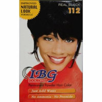 Ideal Black Gold Powder Hair Color - Real Black (Pack of 6)
