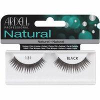 Ardell Fashion Lashes False Eyelashes - #131 Black (Pack of 4)