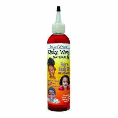 Taliah Waajid Kinky Wavy Natural Hair & Scalp Oi 8 oz. (Pack of 2)