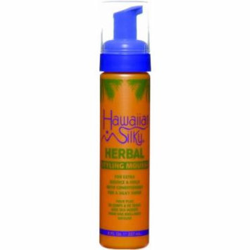 Hawaiian Silky Herbal Styling Mousse 8 oz. (Pack of 2)