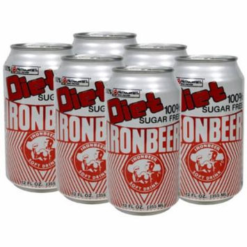 Ironbeer Diet Six Pack 12 Oz Cans