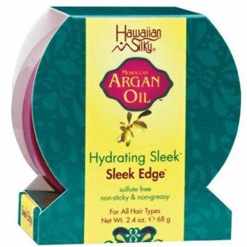 Hawaiian Silky Argan Sleek Edge 2.4 oz. (Pack of 2)