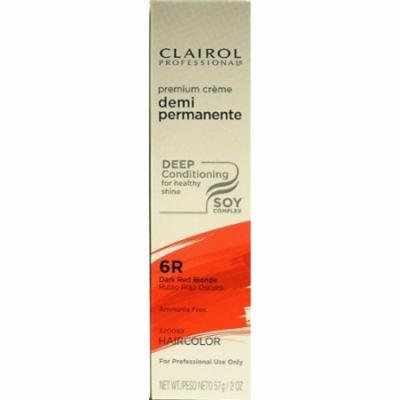 Clairol Premium Cr?me Demi Permanent Hair Color - #6R Dark Red Blonde 2 oz. (Pack of 2)