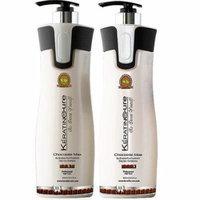 Sulfate Free Keratin Cure Chocolate Brazilian Daily Shampoo Conditioner 960ml/32floz