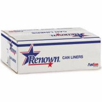 Renown Liner 40X48 45Gl 16Mic Natural 25/Roll 10/Cs