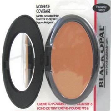 Black Opal Creme To Powder Foundation Heavenly Honey