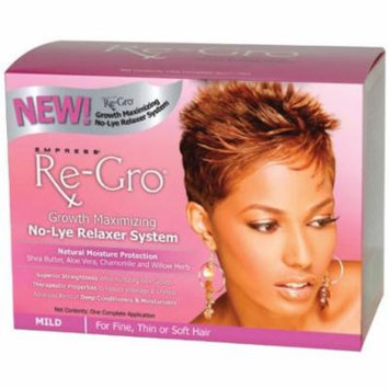 Empress Re-Gro Growth Maximizing No-Lye Relaxer System MILD